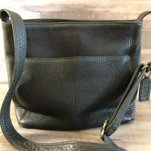 Vintage Coach Sonoma Pebbled Gray Leather Perfect